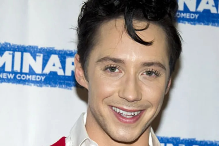 Johnny Weir has some really nice designer items up for grabs.