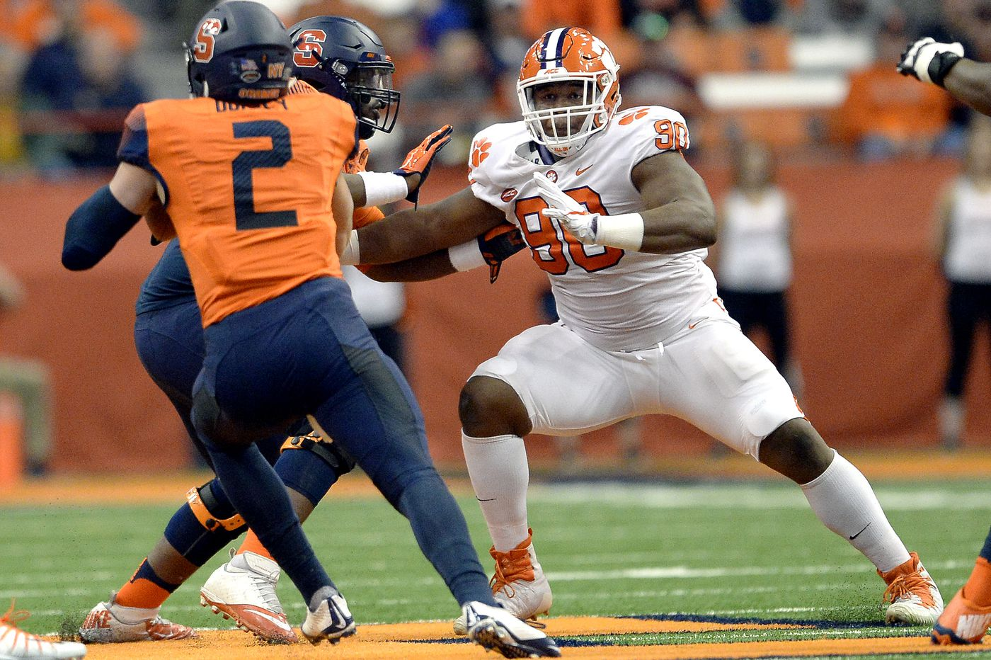 NFL draft betting: Yep, you can even wager on whether the Eagles take Dexter Lawrence in the first round ... but you have to be in Jersey