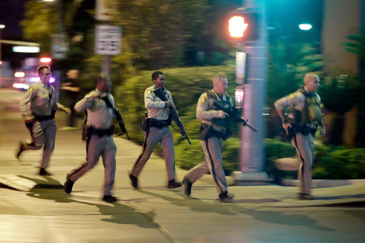 Police release officers' accounts of Las Vegas shooting