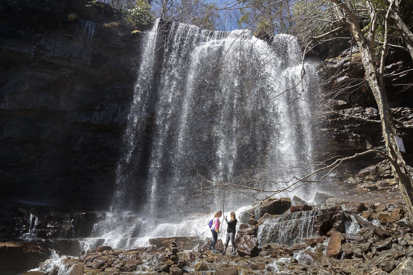 Danger, beauty, and grief at the end of Carbon County's Glen Onoko Falls trail