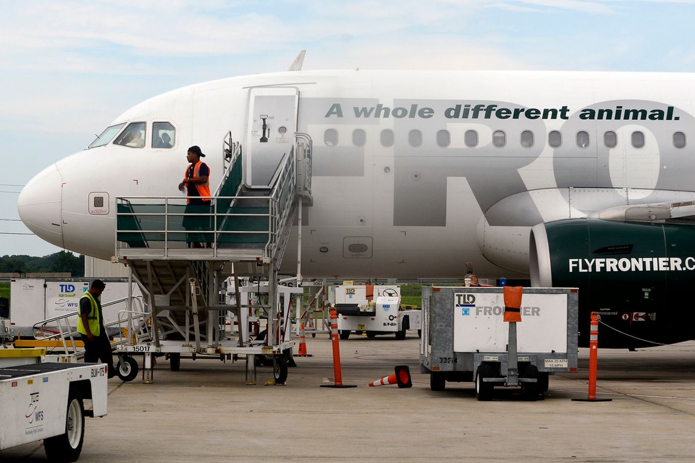 Frontier Airlines adds five new flights from Philly