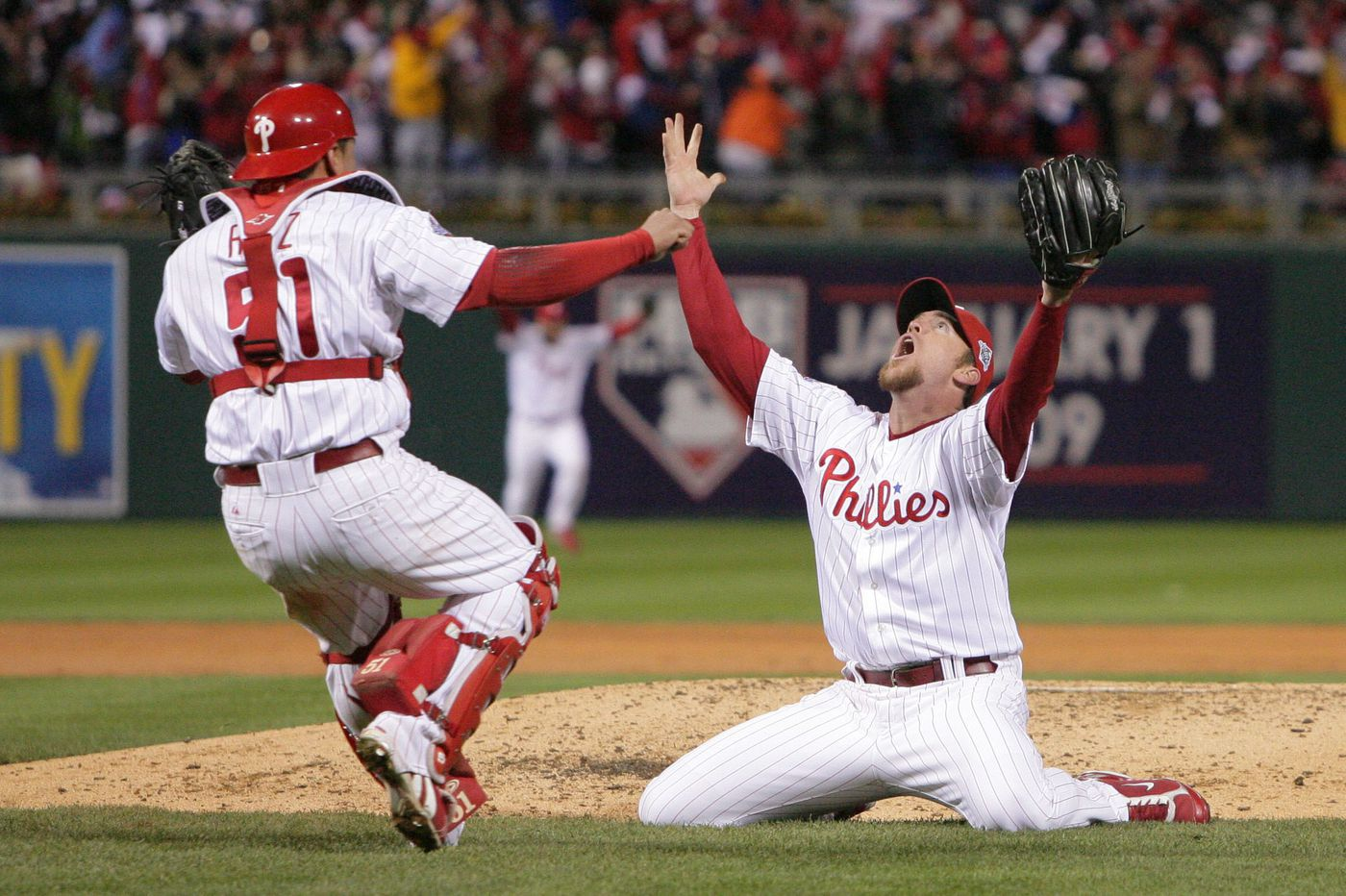 Looking back: 10 years ago today, the Phillies won the World Series