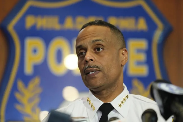 Philadelphia Police Commissioner Richard Ross, under heavy criticism for the arrests of two 23-year-old Philadelphia men at a Starbucks near Rittenhouse Square a week ago and his defense of the police action, apologized to the men Thursday and said he had made the situation worse, Thursday, April 19, 2018.