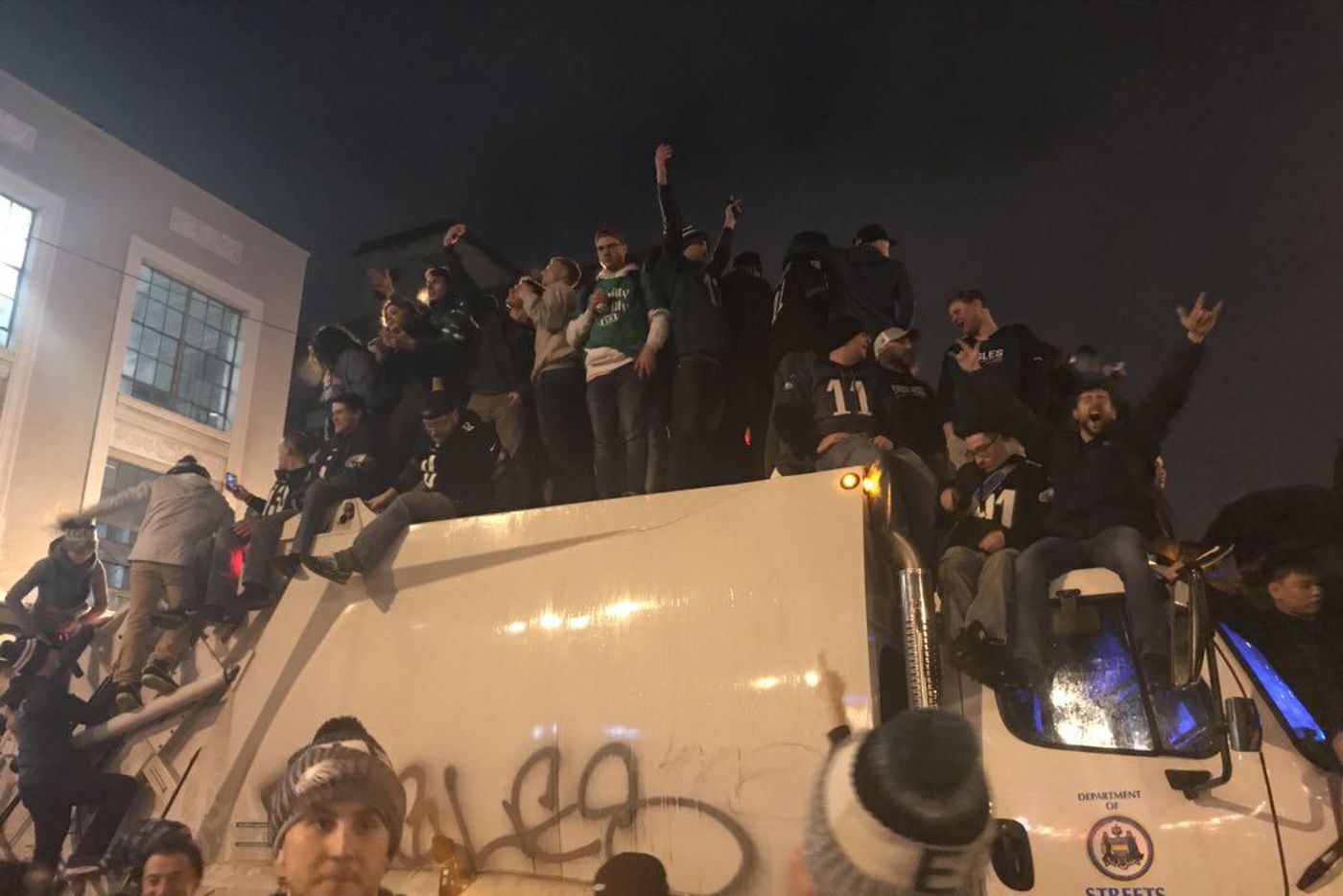 'Horrific scenes' and 'rioting': How national, worldwide media portrayed Eagles fans' post-Super Bowl celebrations