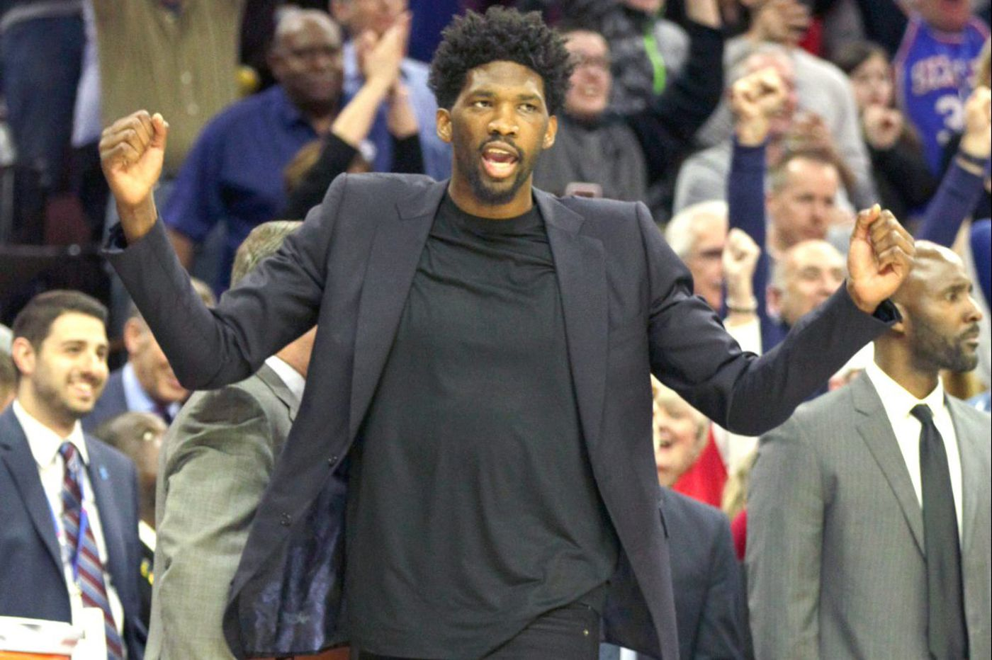 Sixers say they'll be scary when Joel Embiid returns during playoffs