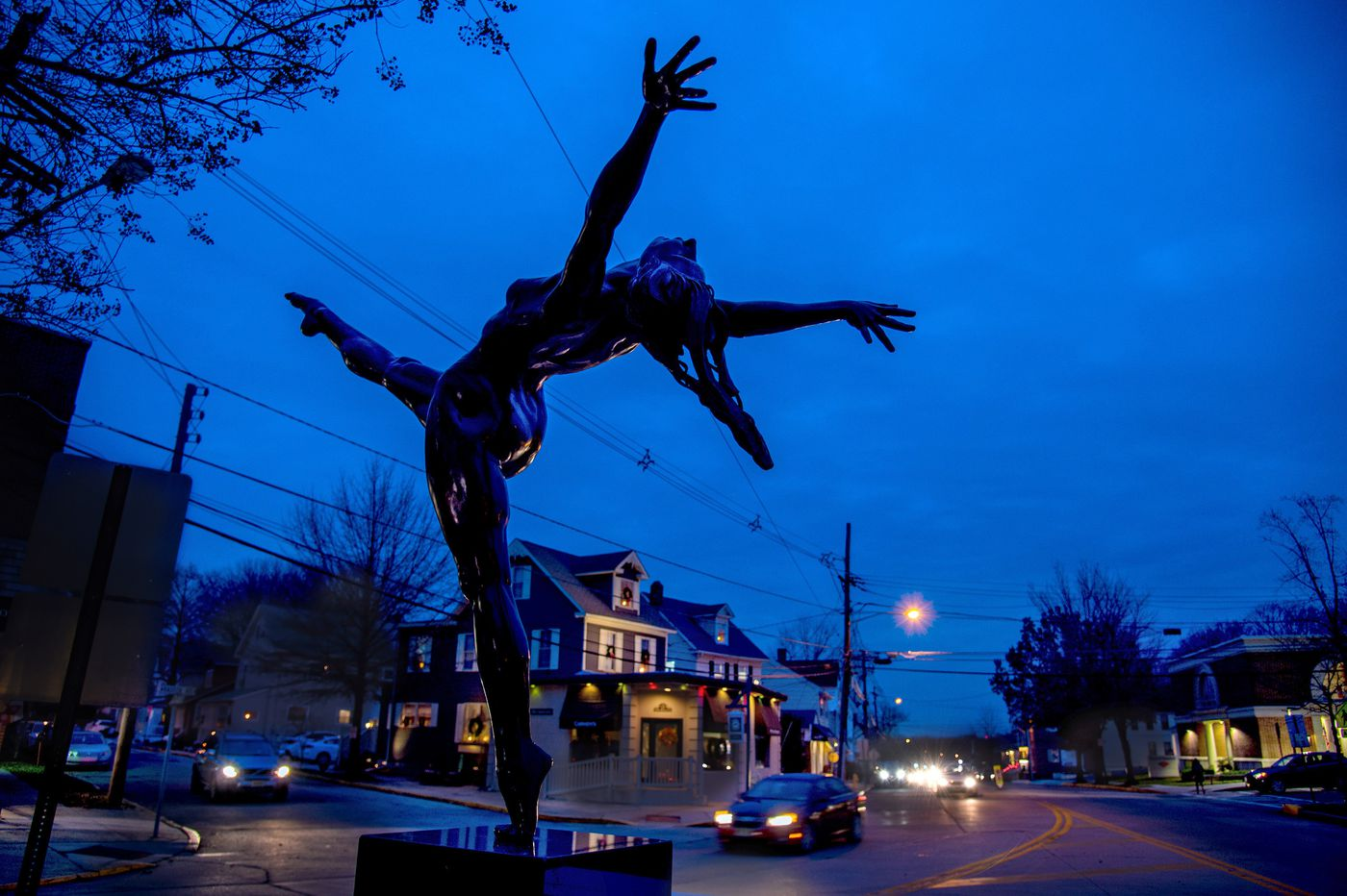 For a Dancer: Haddonfield adds new public sculpture downtown