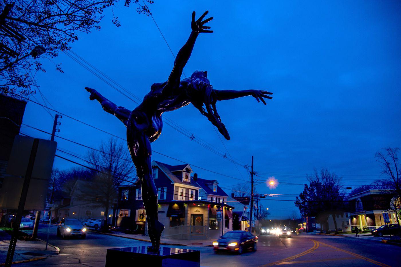 For a Dancer: Haddonfield adds new public sculpture downtown