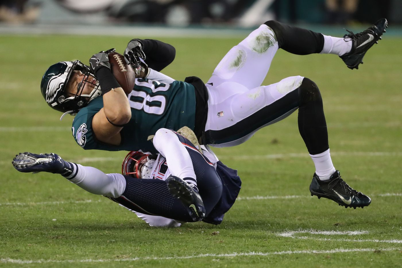 Eagles tight end Zach Ertz is questionable for Sunday's Dolphins game