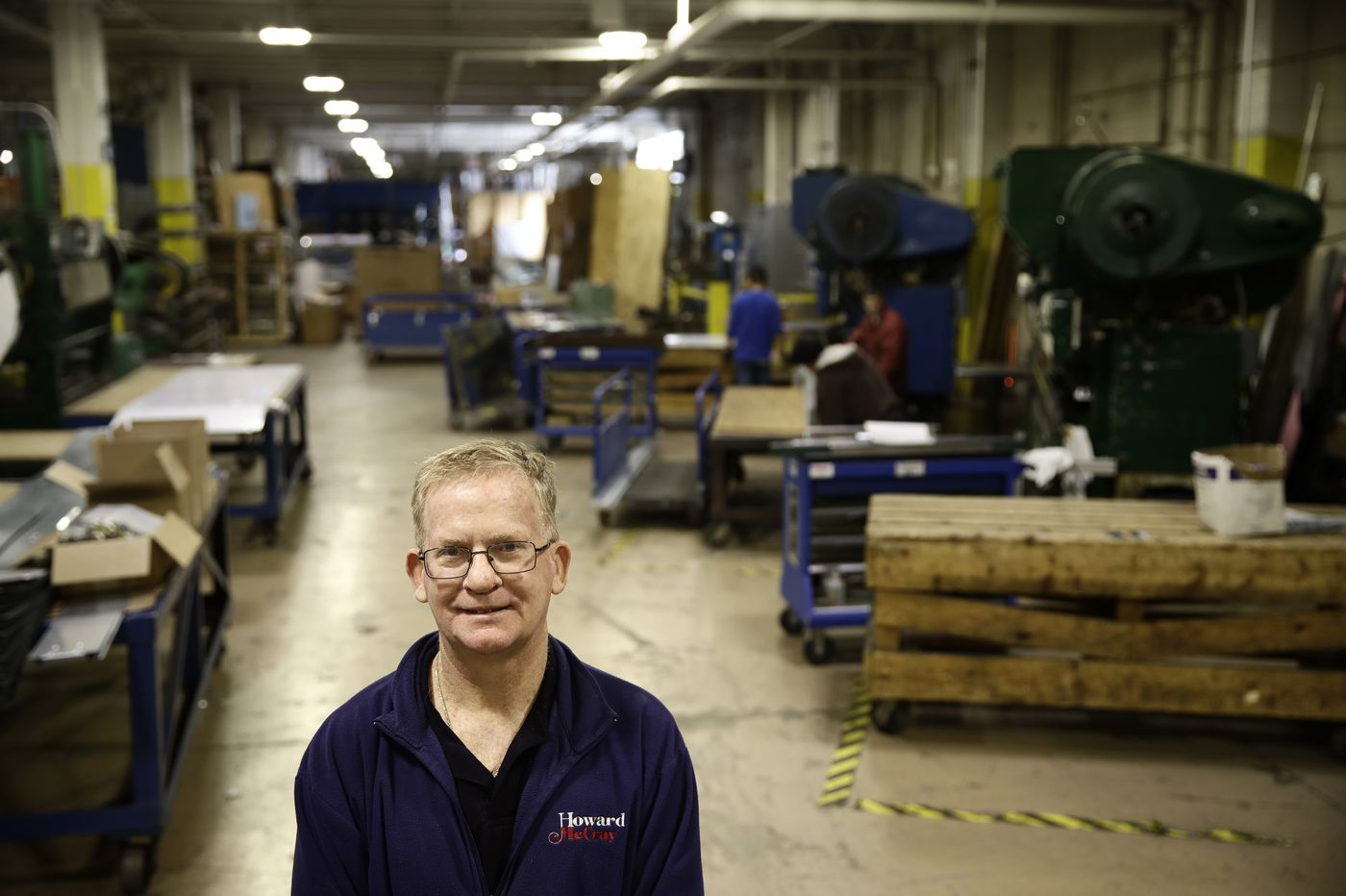 At a small Philadelphia factory, Trump's trade war forces hard changes
