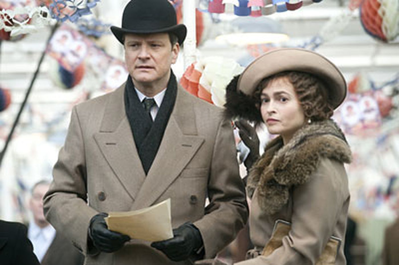 Colin Firth & Geoffrey Rush excel in story of Britain's King George VI overcoming stutter at a critical moment