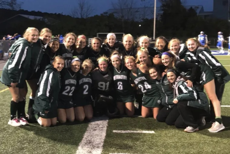 Number 14 seed Methacton advances to the District 1 3A semifinals and clinched a berth in states with an upset win over No. 6 seed Downingtown West.