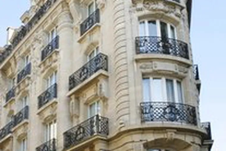 "The Radisson Blu Le Dokhan's Hotel is in ""Parisian Hideaways."""