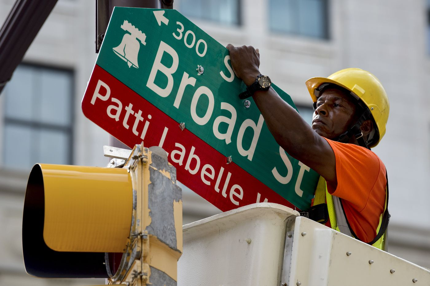 Philly misspelled Patti LaBelle's name on her honorary street