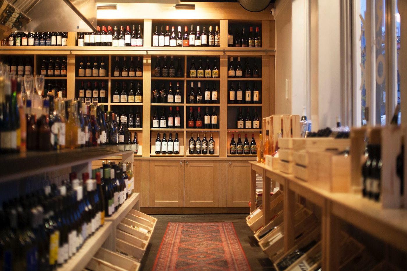 Audrey Claire Cook is now Cork, a wine shop selling 100-plus bottles