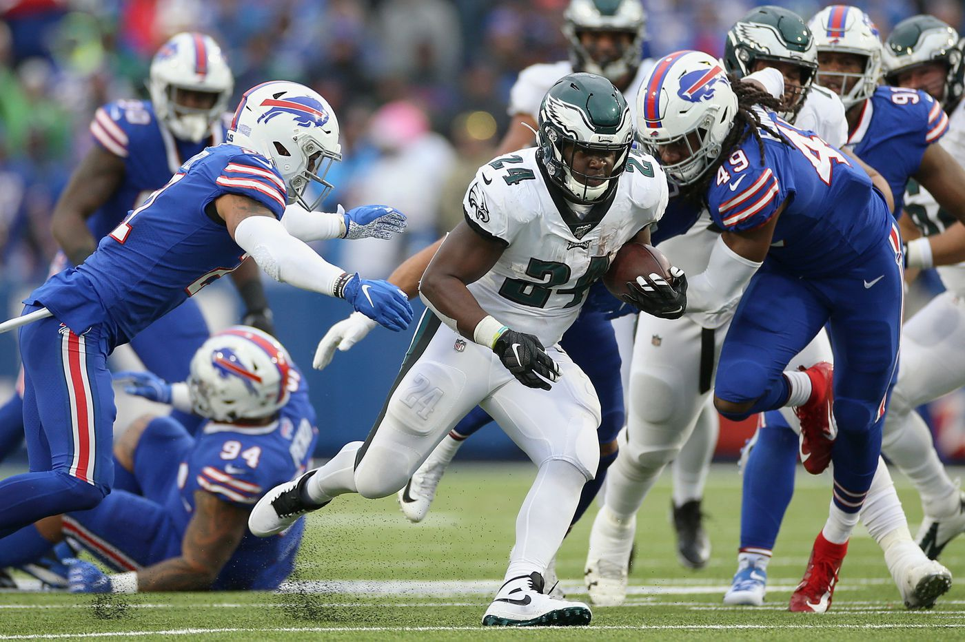 Grading the Eagles: Much-needed high marks in big win over Buffalo Bills | Paul Domowitch