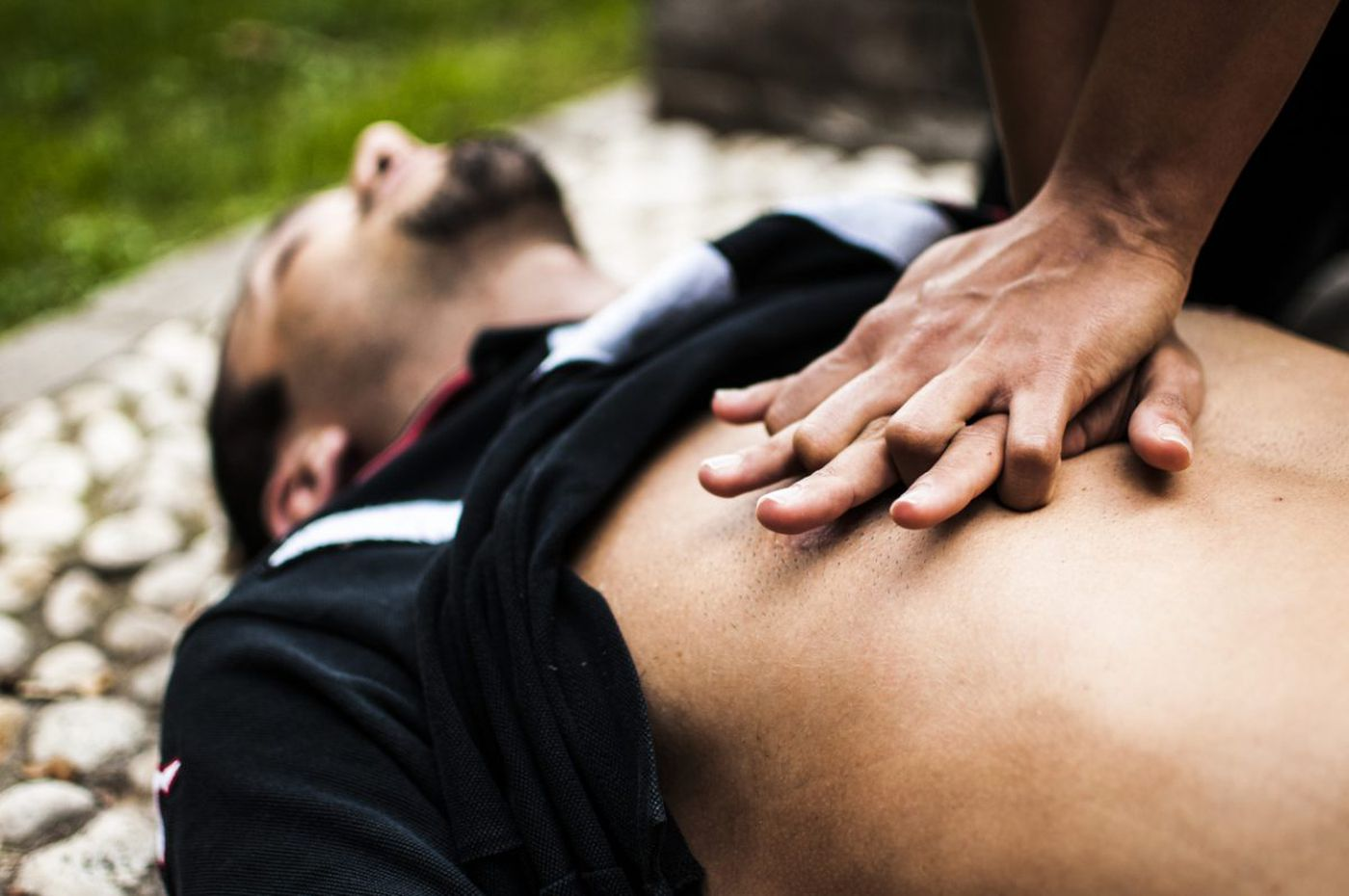 Save a life in two easy steps with hands-only CPR