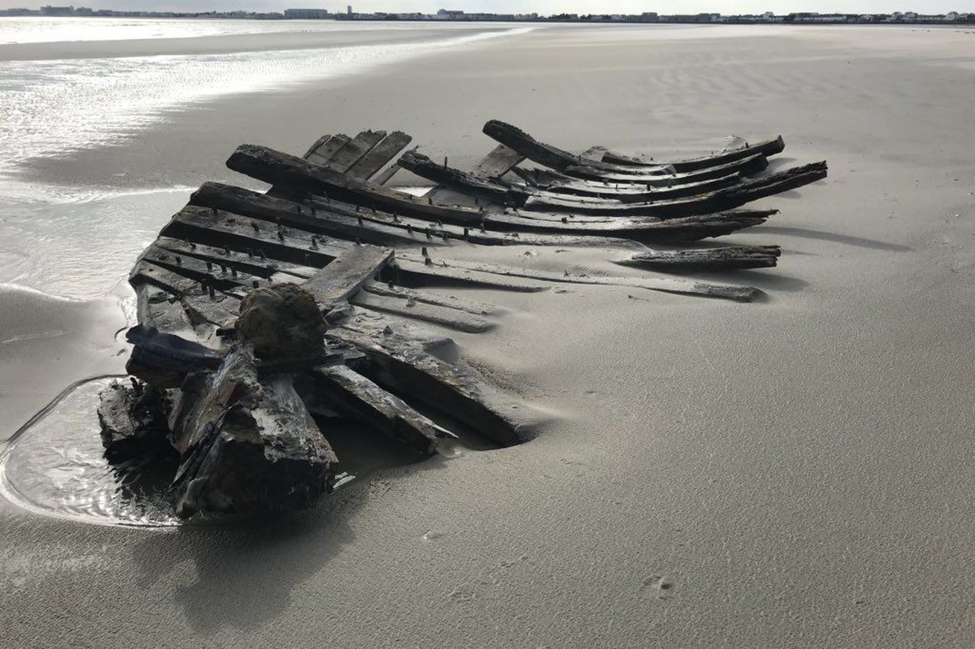 Discovery of shipwreck at the Jersey Shore fuels debate: Which boat is it?
