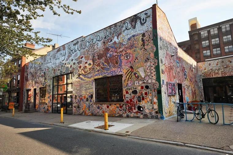 Exterior of Painted Bride Art Center in Philadelphia.