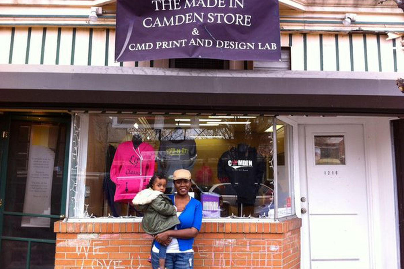 Store's stock is made in Camden