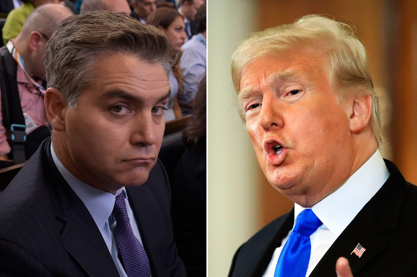 CNN sues Trump over Jim Acosta press pass