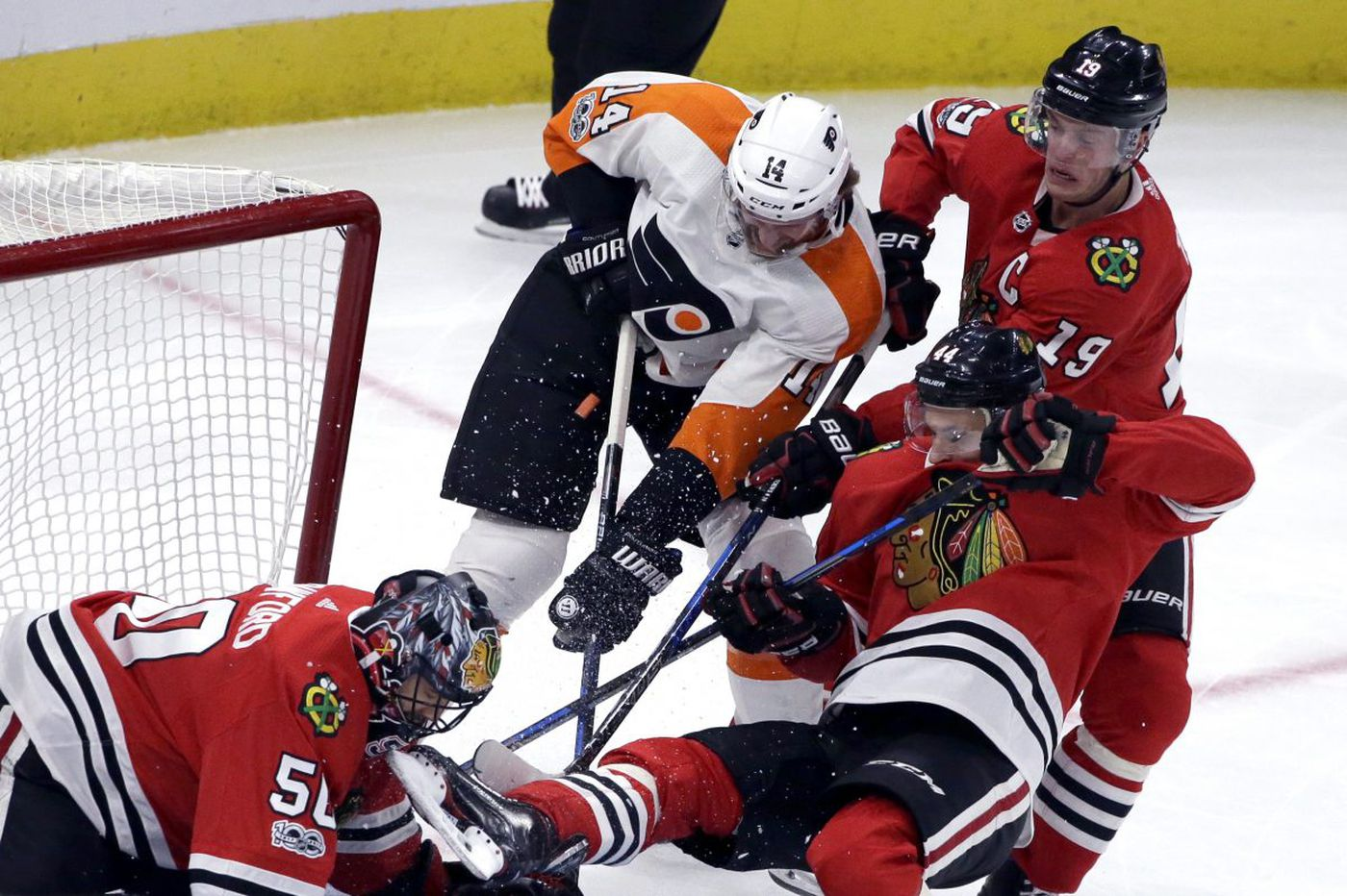 Flyers-Blackhawks preview: Chicago reuniting its top line