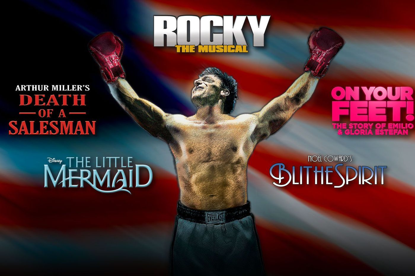 Walnut Street Theatre season to open with 'Rocky, The Musical,' updated to fix things that aren't gonna fly in Philly