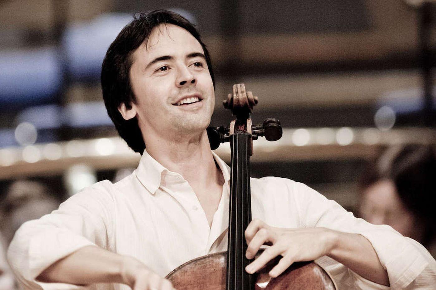 French cellist shines in orchestra appearance