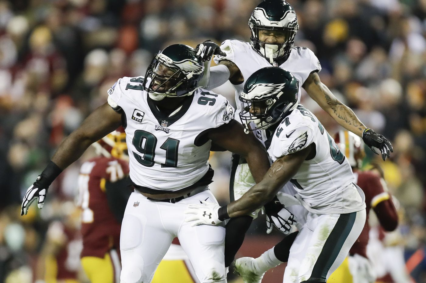 The Eagles are entering the NFL playoffs relaxed, experienced and with nothing to lose | Mike Sielski