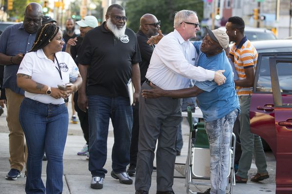 Kenney visits Southwest Philly in wake of Father's Day shooting