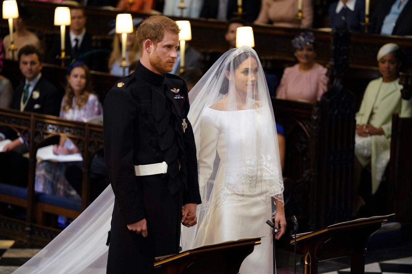 Royal wedding fashion: Meghan Markle sparkles in Clare Waight Keller for Givenchy   Elizabeth Wellington