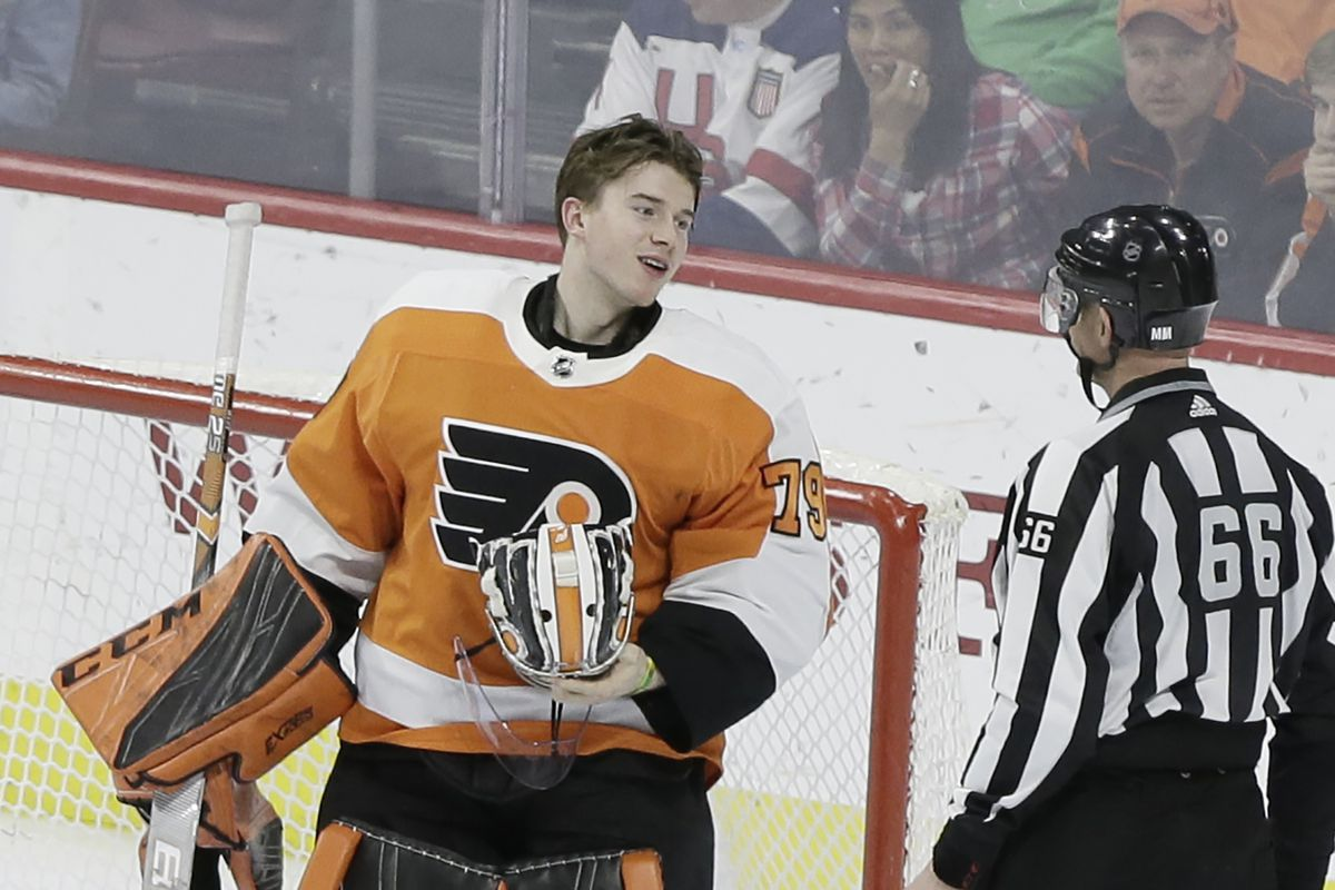 Ut Health Center >> Flyers legend Bernie Parent on Carter Hart: 'I see nothing ...