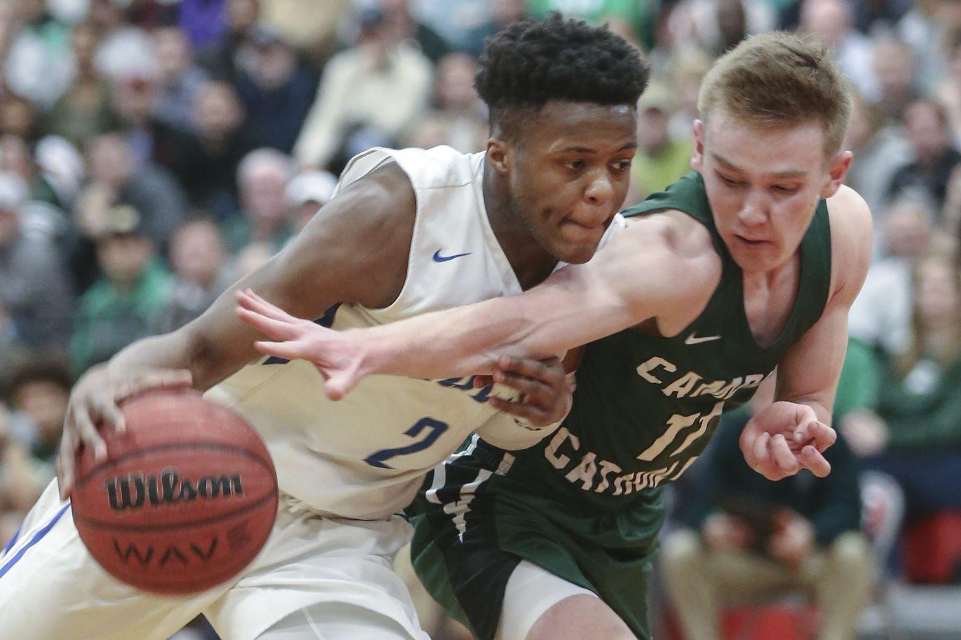Camden Catholic seniors set sights on state boys' basketball title