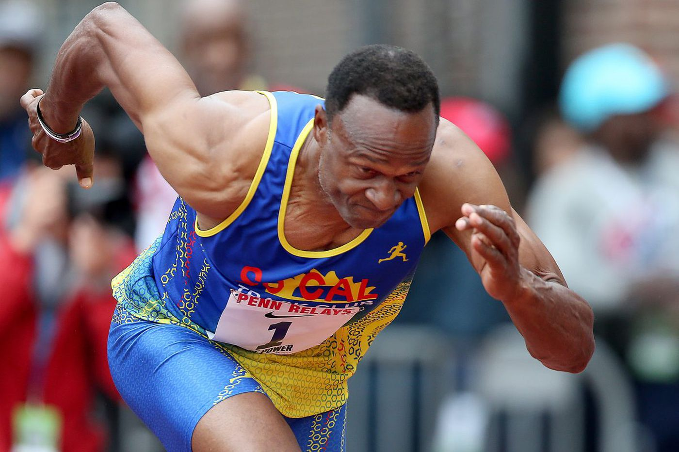 Masters sprinter Willie Gault still going strong at Penn Relays
