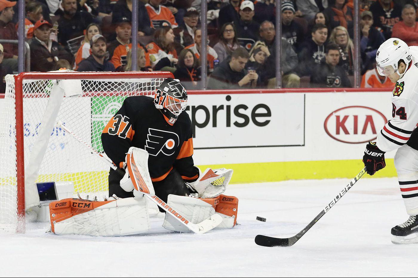 Flyers trying to stop Florida streaks; Brian Elliott rolling