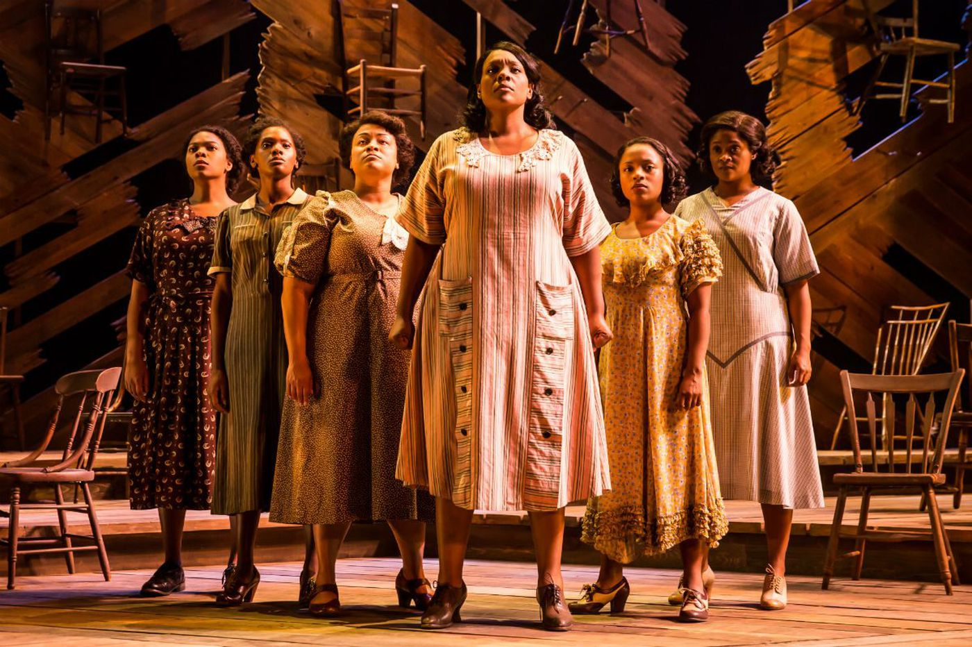 'The Color Purple' at the Forrest Theatre: Climbing to a plateau of joy