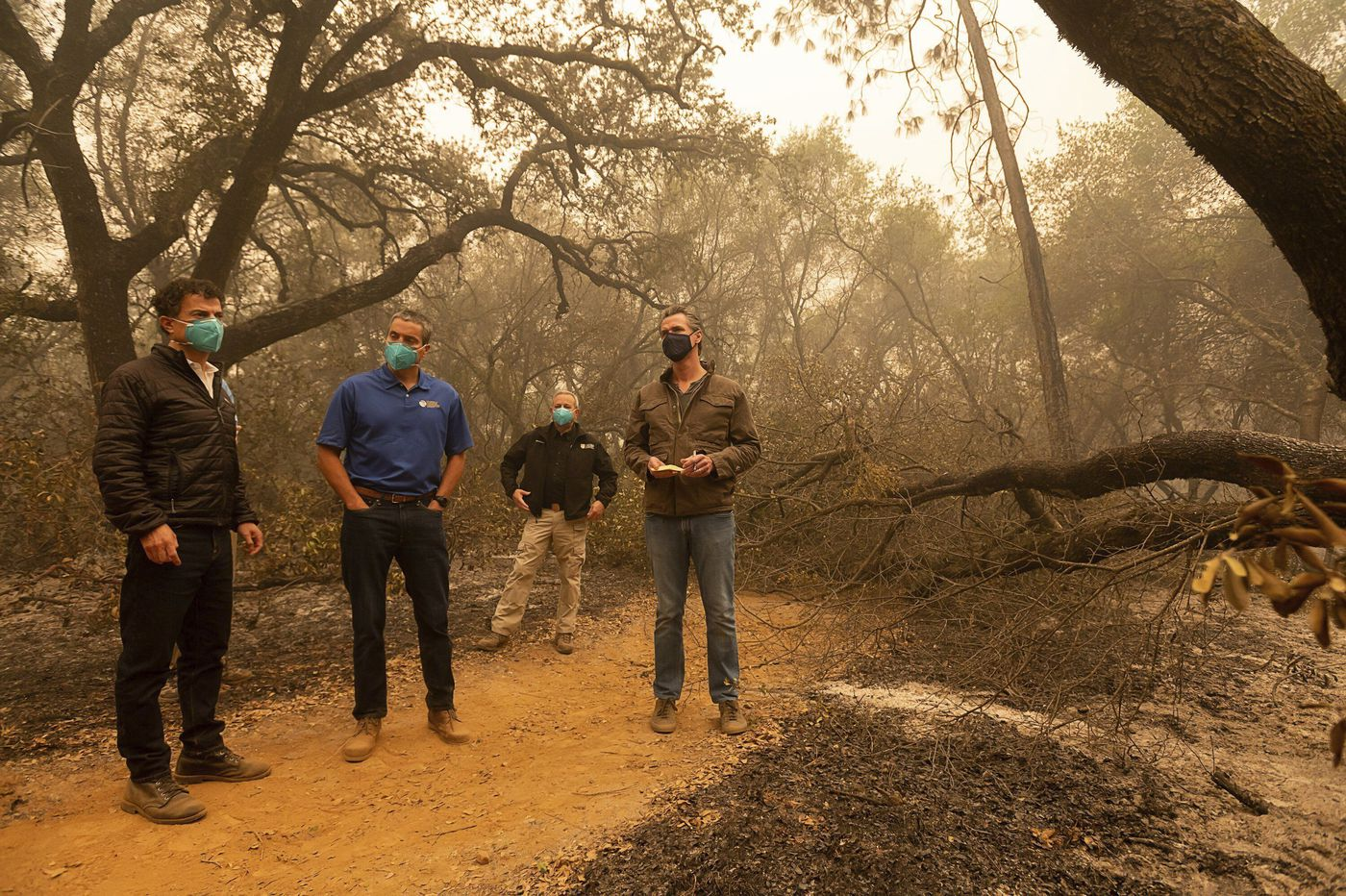 How climate change is fueling record-breaking California wildfires, heat and smog
