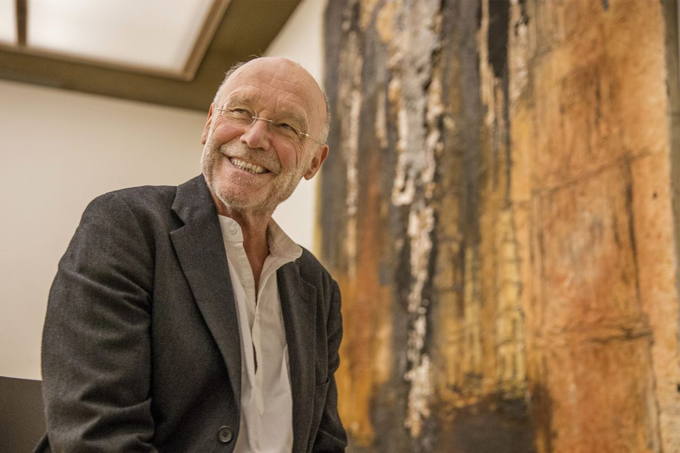 Anselm Kiefer says Auguste Rodin was a creative destroyer, just like him. Their joint show is now at the Barnes.