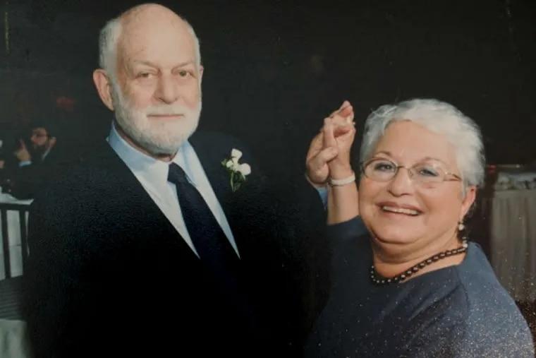 James Joseph Orlow with wife Eva Katz Orlow.