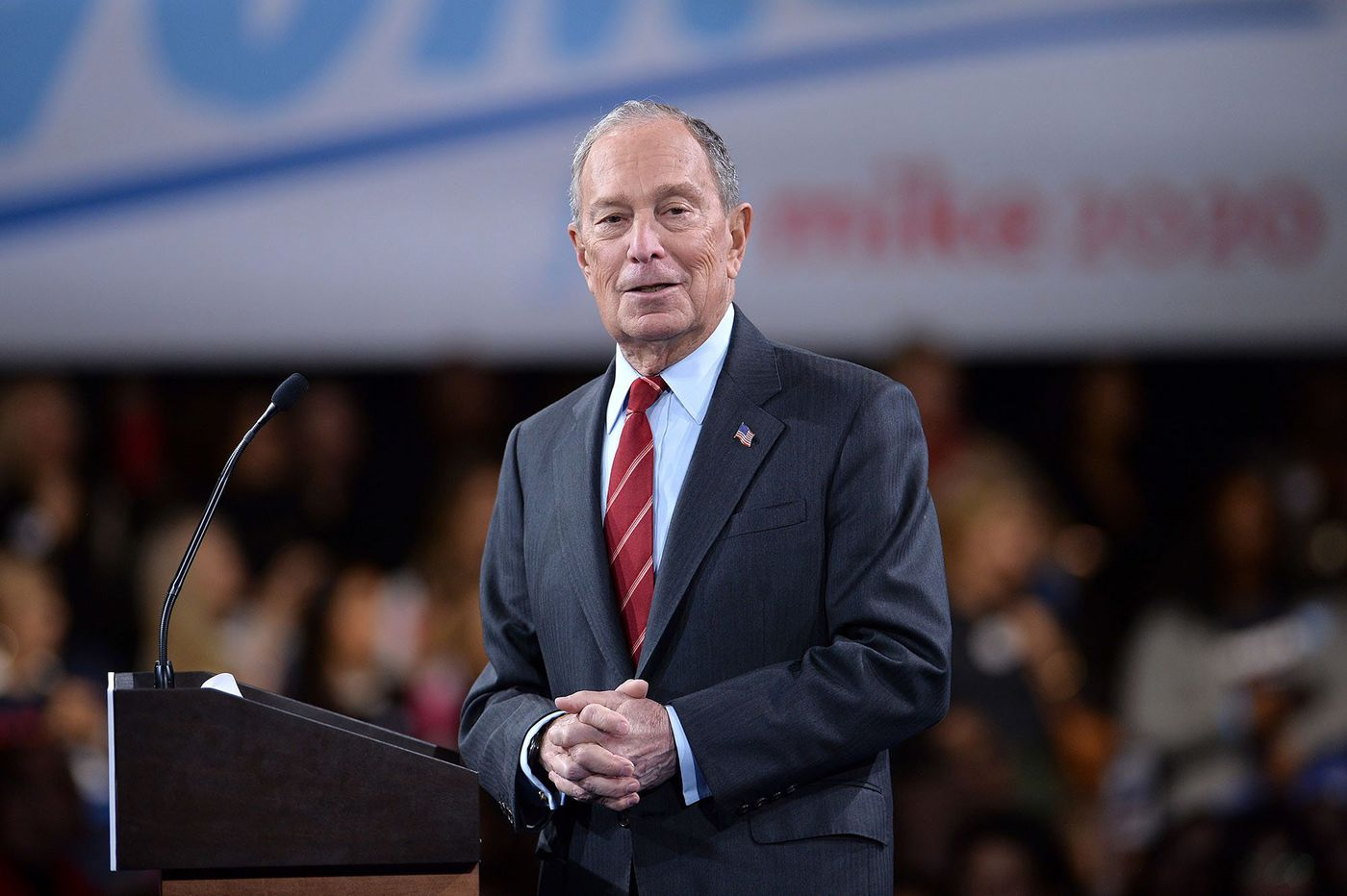 Bernie Sanders, Joe Biden and Amy Klobuchar accuse Mike Bloomberg of trying to buy Democrats' election