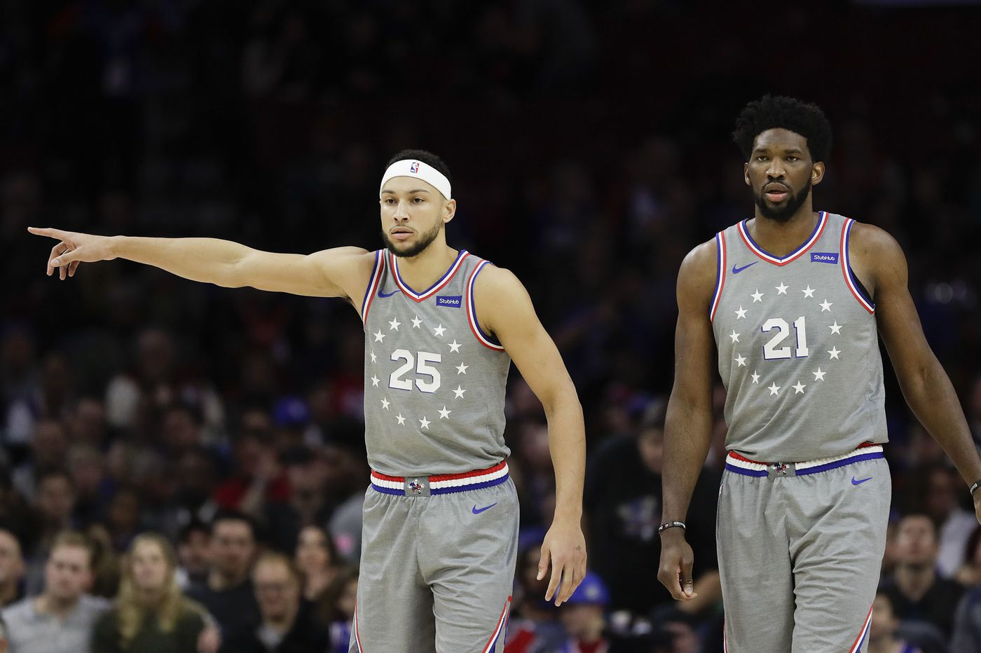 brand new 29653 0a485 Sixers receive 'Earned Edition' uniforms in honor of playoff ...