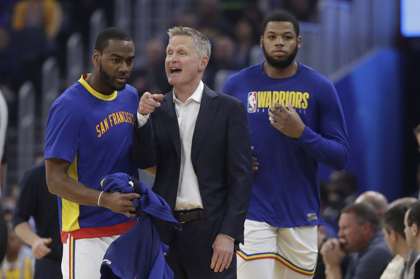 Warriors' Steve Kerr: Sixers game will be 'emotional and difficult to play'