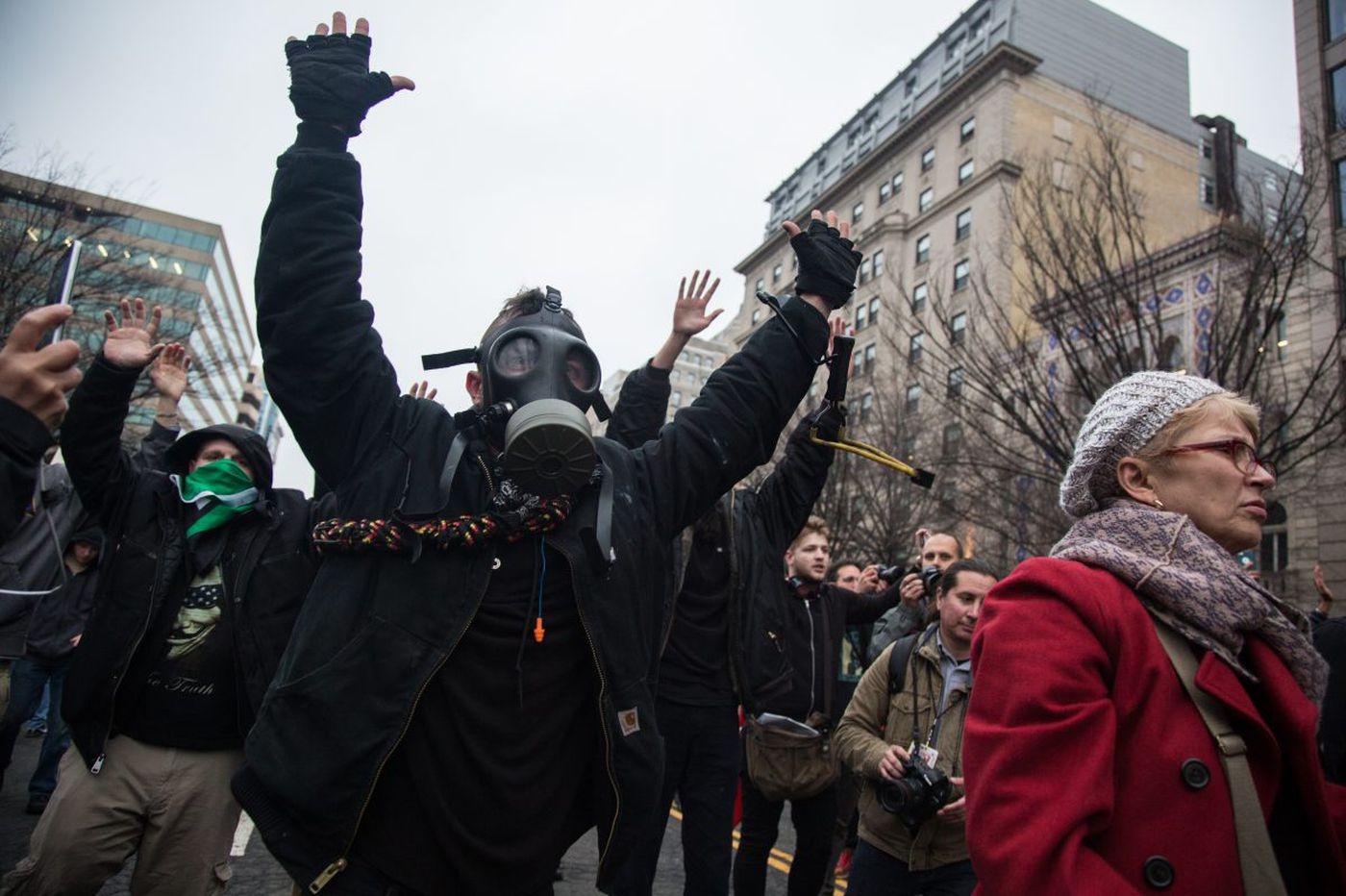 Their Trump inauguration protest turned violent. Two from Philly could be first sent to prison for it