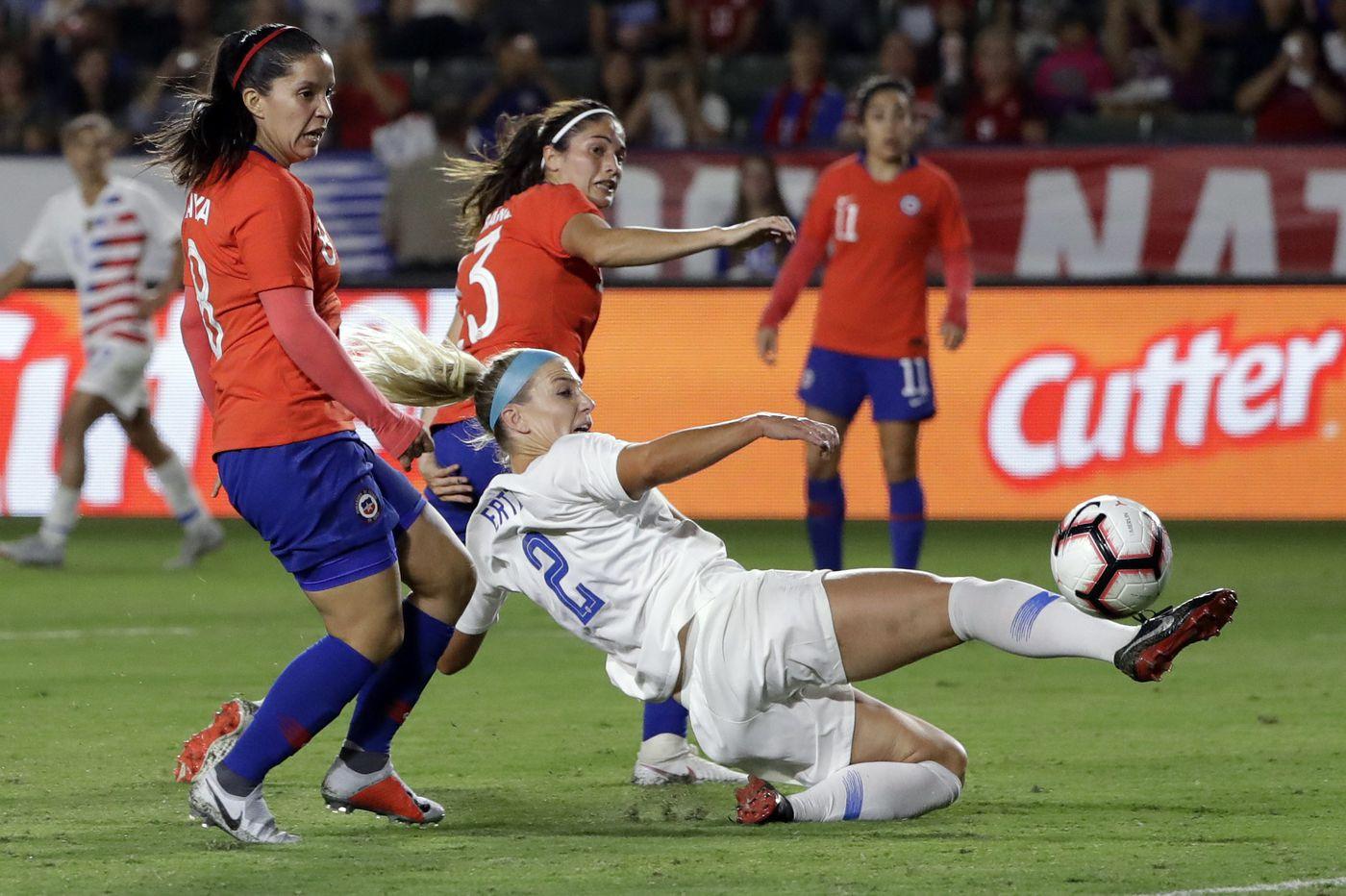 Julie Ertz ready for loaded U.S. women's soccer team to start World Cup qualifying