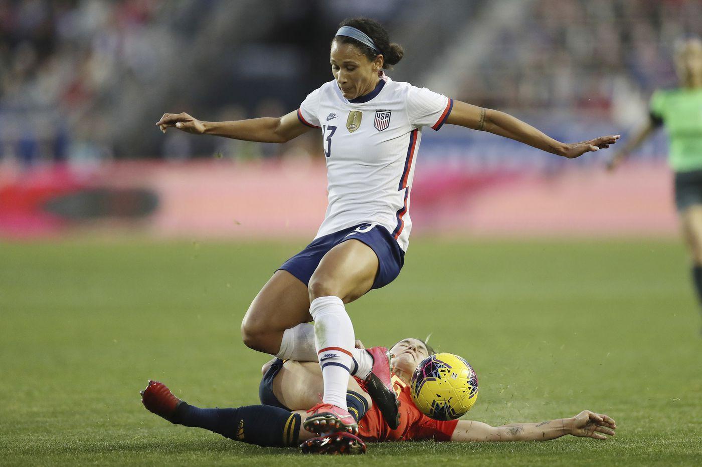 USWNT's forward battle with Carli Lloyd, Christen Press and Lynn Williams intensifies ahead of Olympics