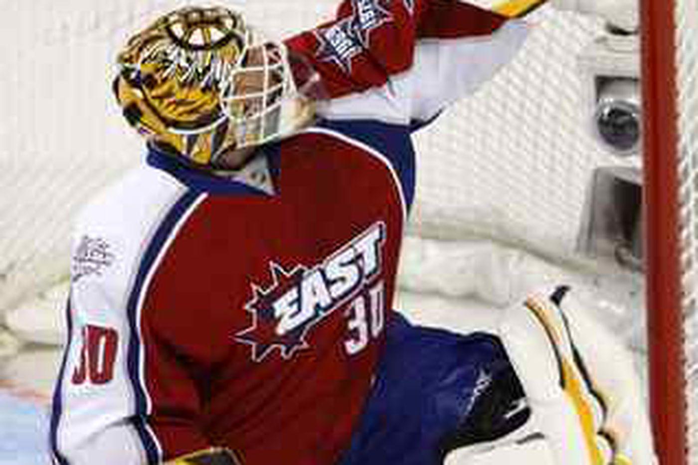 Flyers' Carter enjoys All-Star festivities