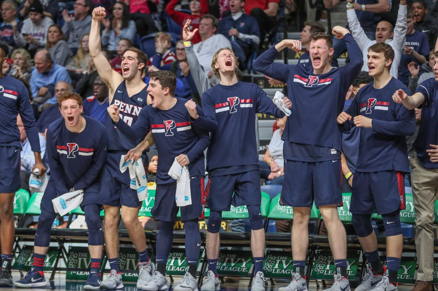 Penn ends 11-year NCAA tournament drought with 68-65 win over Harvard at the Palestra