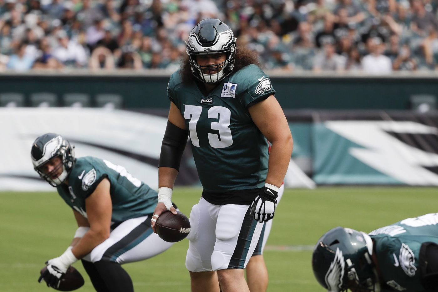 Eagles aren't ready to make a snap decision on Isaac Seumalo's future
