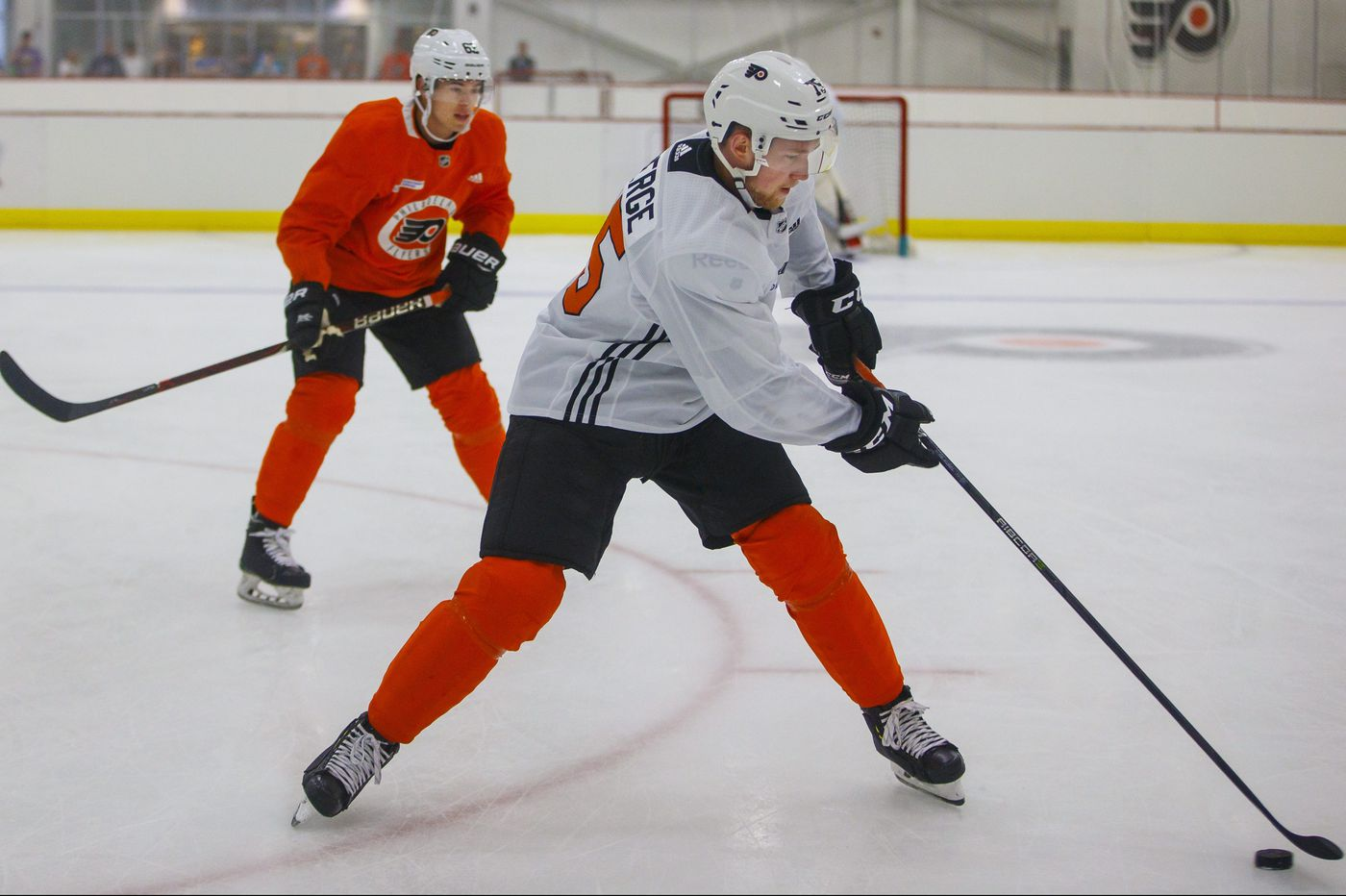 Flyers prospect Pascal Laberge opens eyes at development camp