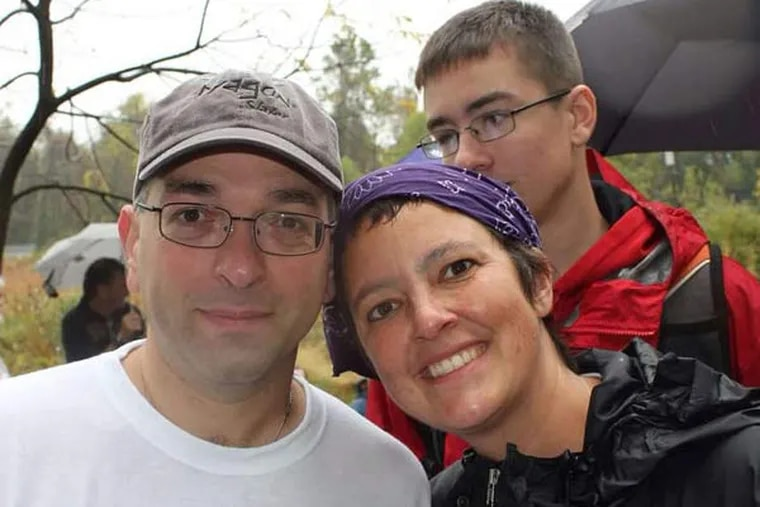Hooman Noorchashm (left) and his wife, Amy Reed, have advocated for a ban on morcellators. The device spread leiomyosarcoma in her body.