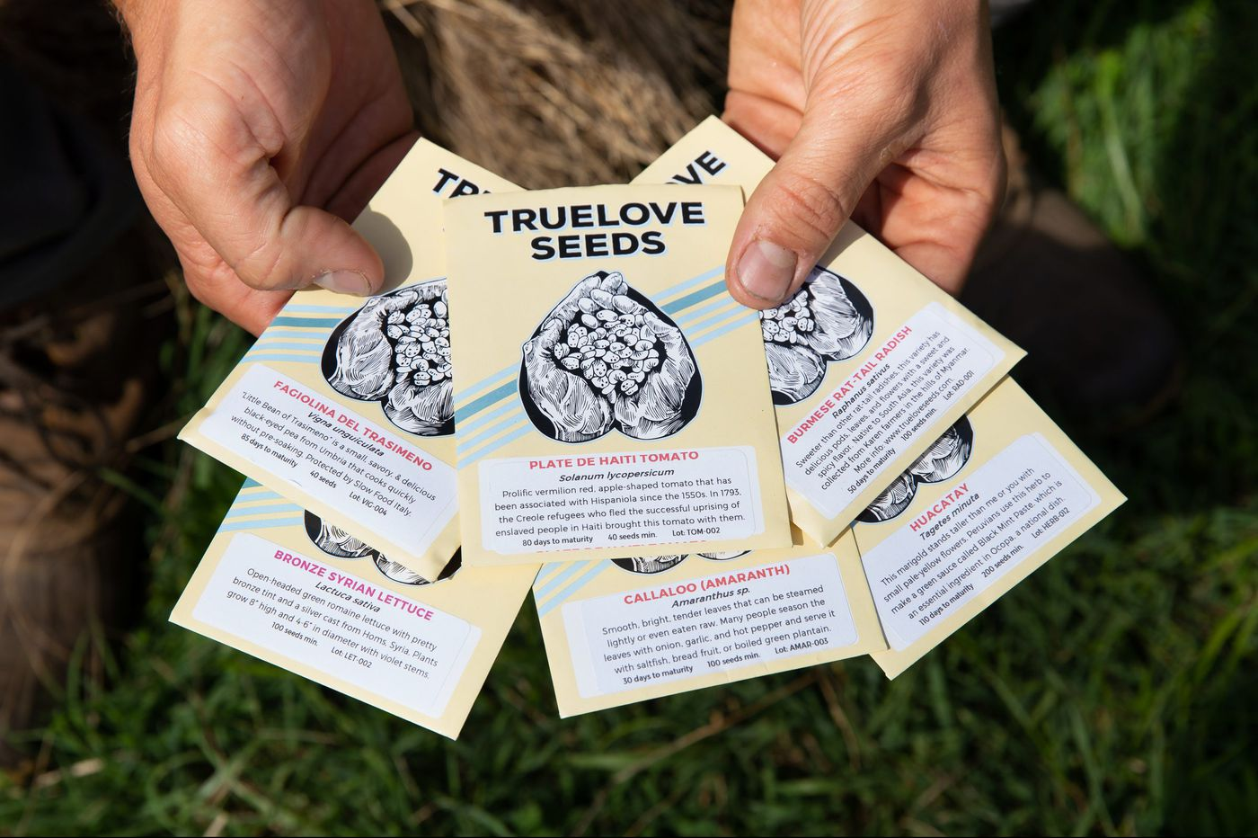 Truelove prizes seeds and stories from around the world